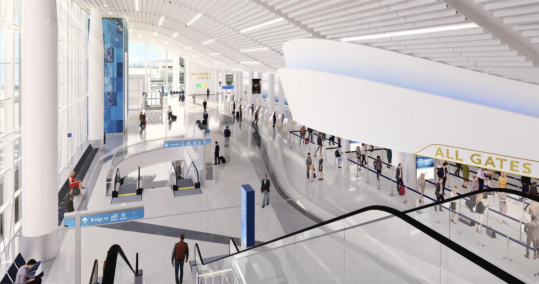 Charlotte Douglas International Airport (CLT) Terminal Lobby Expansion Designed by Gresham Smith